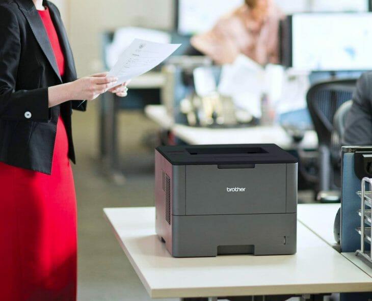 Лазерный принтер Brother для офиса