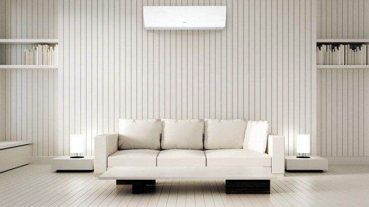 Настенная белая сплит-система LG