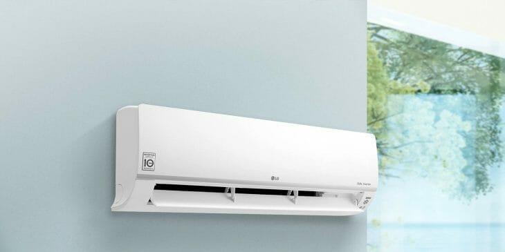 Настенная сплит система LG с инвертором
