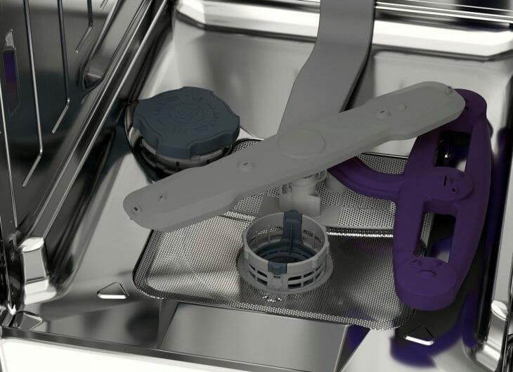 Нижнее коромысло посудомоечной машины