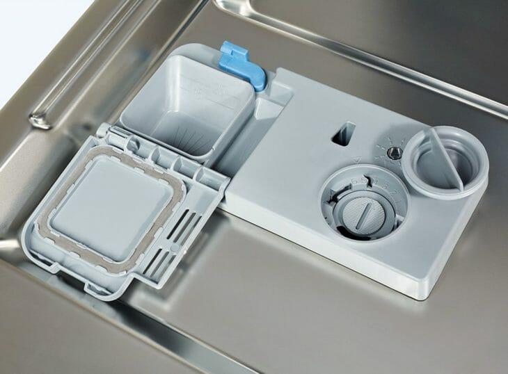 Отсек для моющего и соли в ПММ