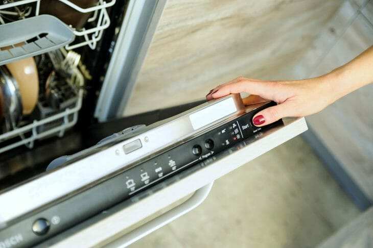 Панель управления посудомоечной машиной Bosch