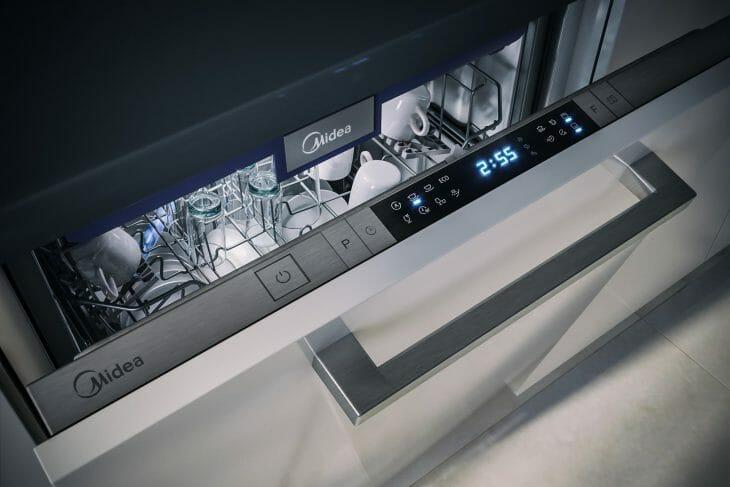 Панель управления посудомойки Midea
