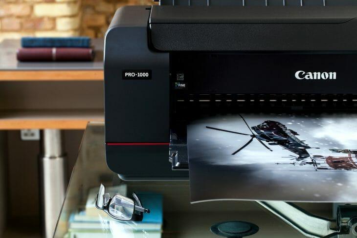 Печать дома на фотобумаге