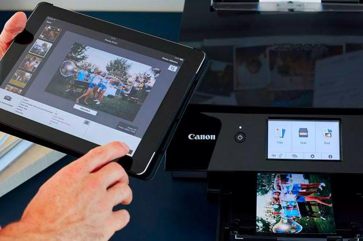 Печать фото на МФУ дома через планшет