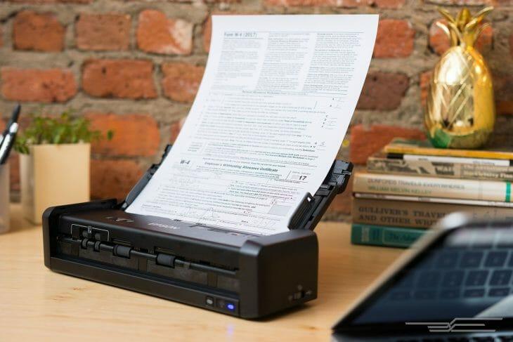 Портативный сканер Epson