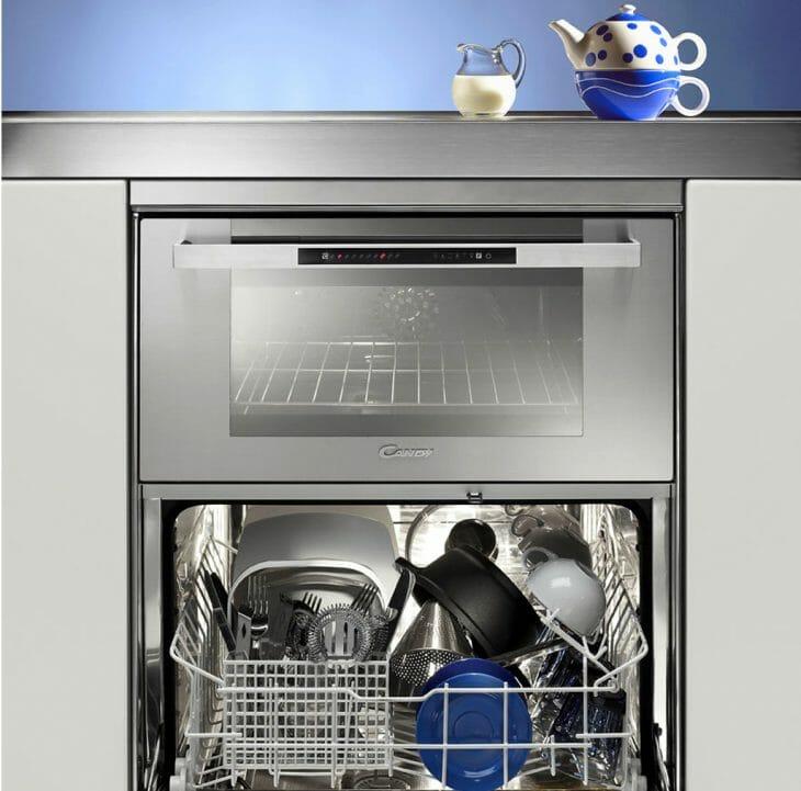 Посудомоечная машина Candy интегрированная с духовкой