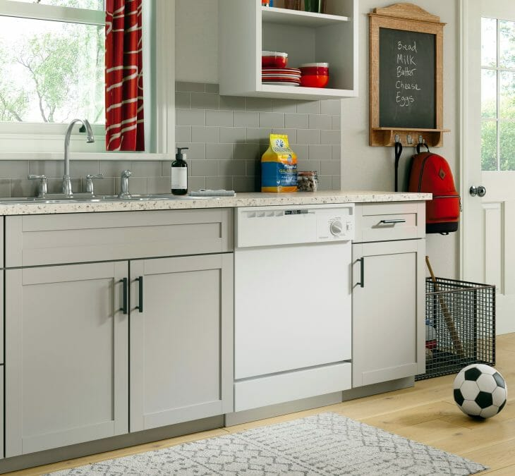 Посудомоечная машина Hotpoint-Ariston в интерьере кухни