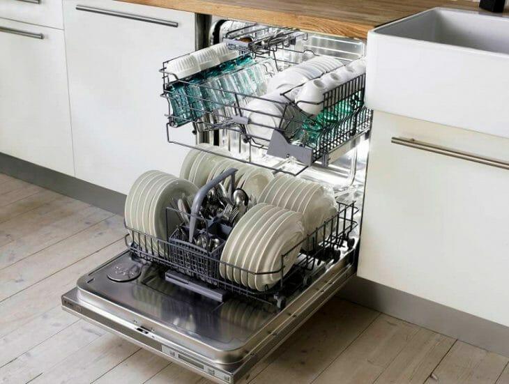 Вместимость посудомойки Hansa