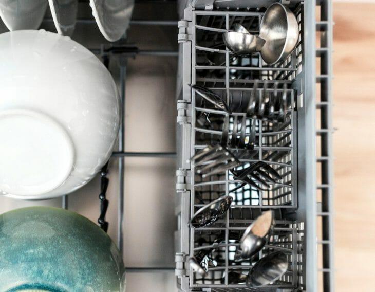 Посудомойка вид сверху