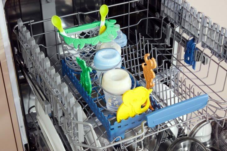 Размещение посуды в ПММ Indesit