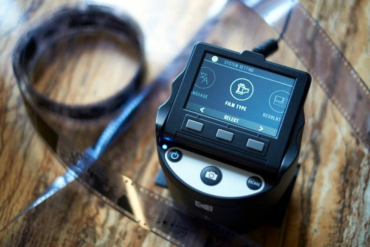 Сканер Kodak для фотопленки