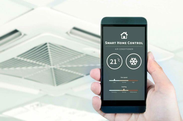 Сплит система LG c управлением через мобильное приложение