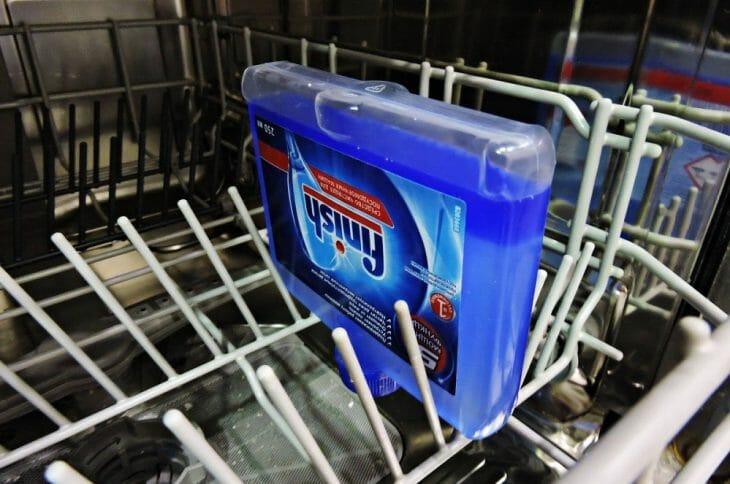 Средство Финиш для чистки посудомойки