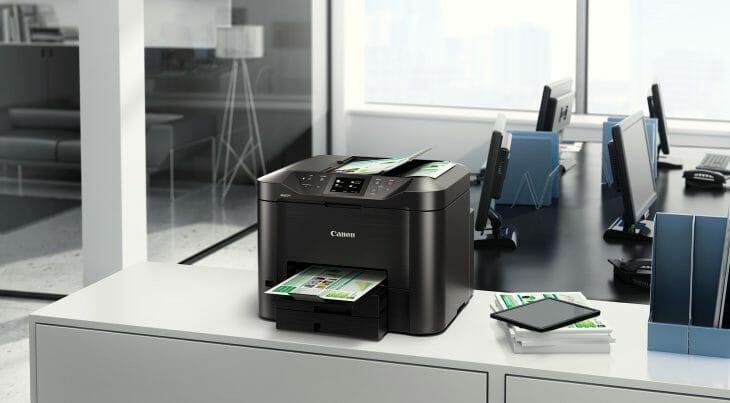 Струйный принтер Canon для офиса