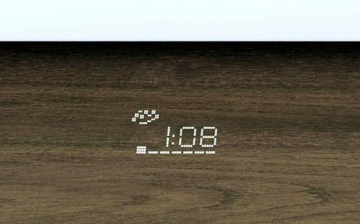 Световая проекция посудомойки на полу