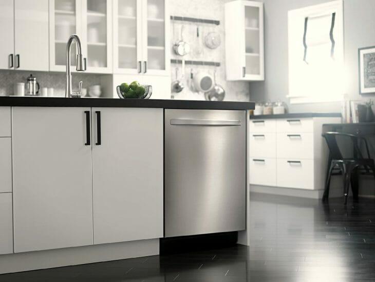 Тихая отдельно стоящая посудомойка