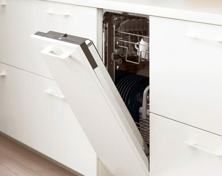 Узкая посудомоечная машина IKEA