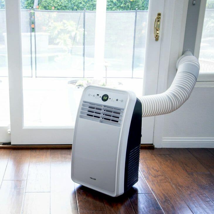 Вывод воздуха в переносном кондиционере