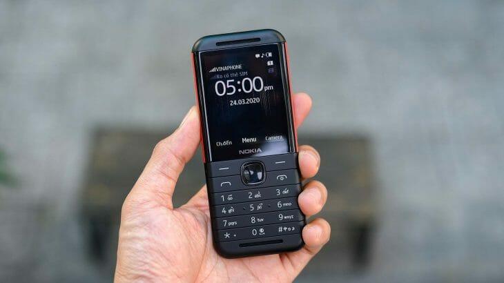 Кнопочный телефон с камерой