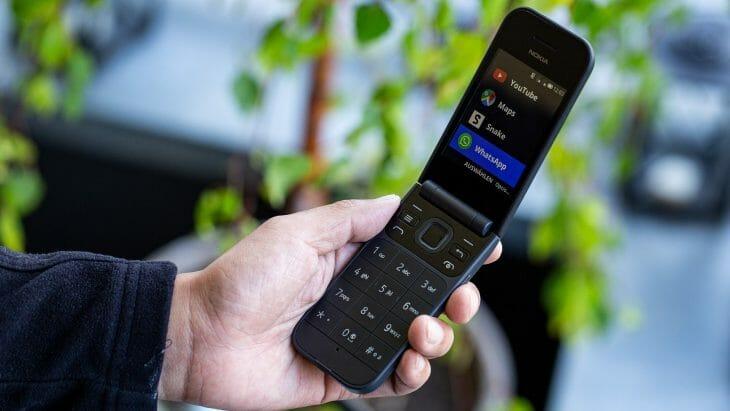 Кнопочный телефон с приложениями