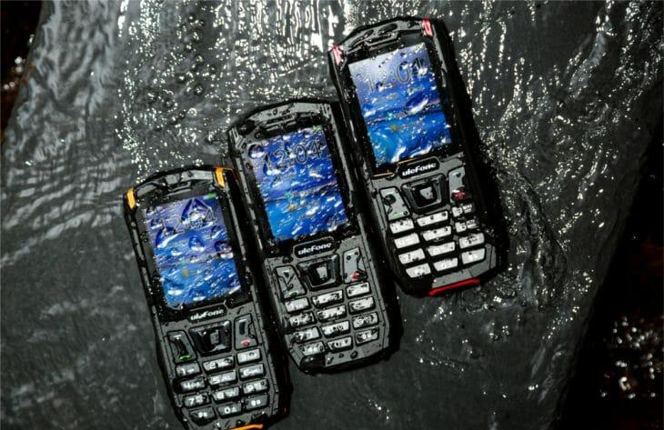 Кнопочные телефоны с водозащитой