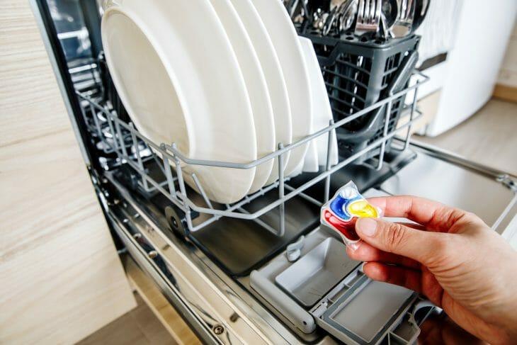 Моющая капсула к посудомоечной машине