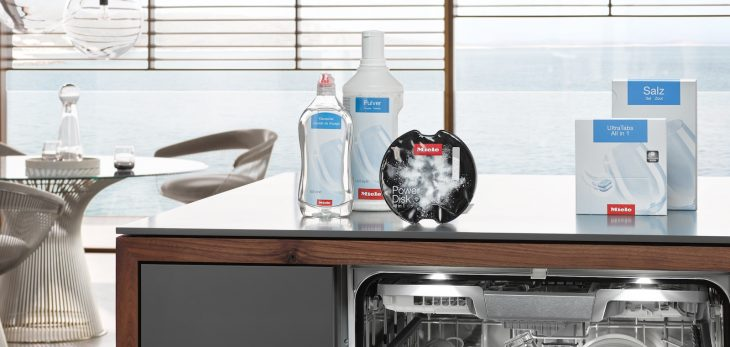 Оригинальные моющие средства для посудомойки Miele