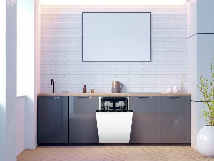 Посудомойка на небольшой кухне