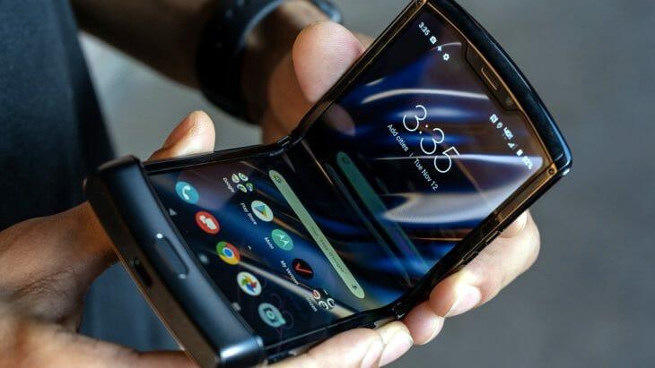 Раскладной смартфон Motorola