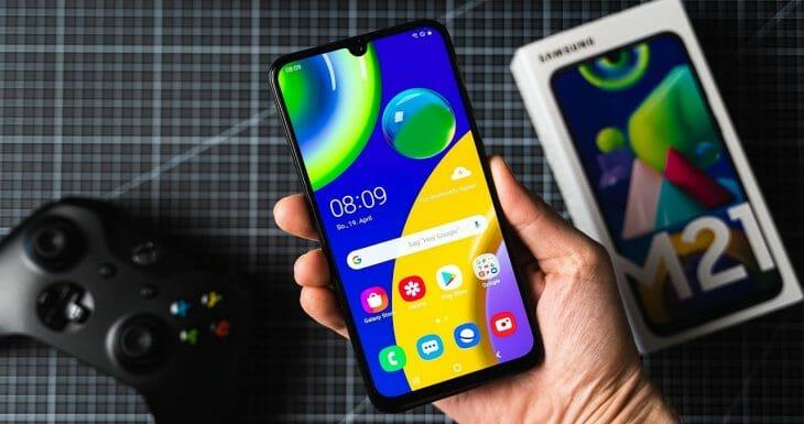 Телефон Samsung с процессором Exynos