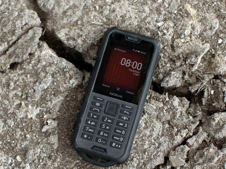Ударопрочный телефон Nokia