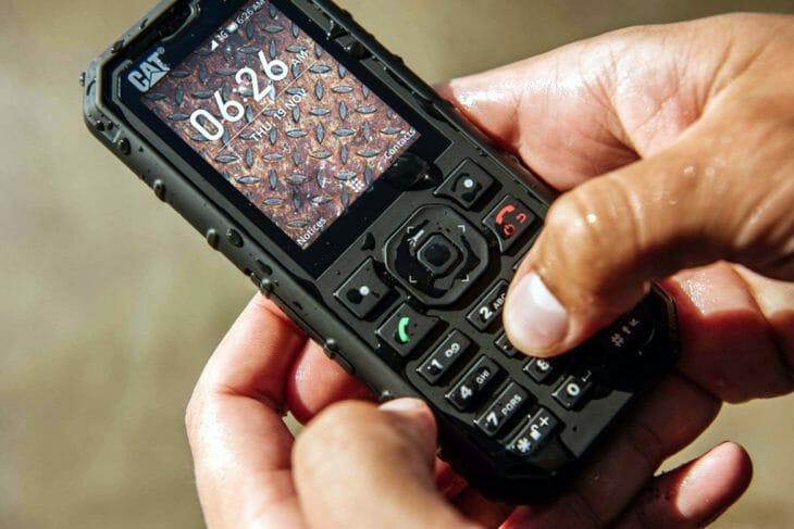 Водонепроницаемый кнопочный телефон
