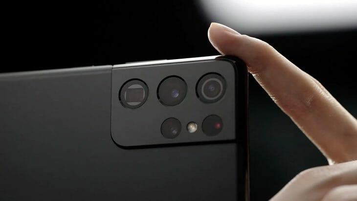 Блок камер флагманского телефона Samsung
