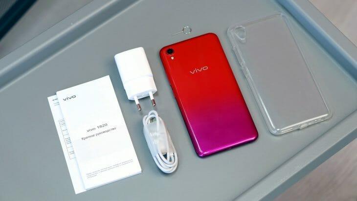 Комплектация доступного телефона Vivo