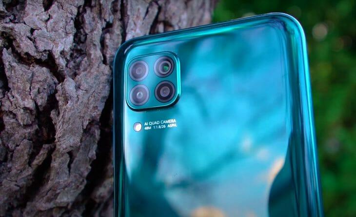 Квадрокамера смартфона Huawei