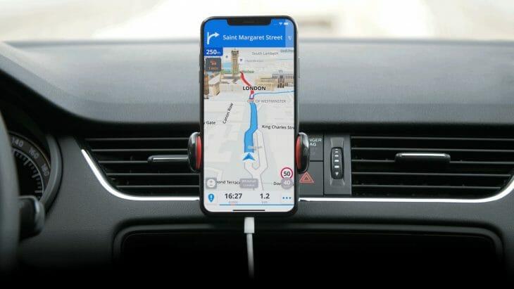 Навигация в телефоне
