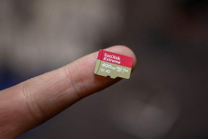 Скоростная карта microSD большего объема