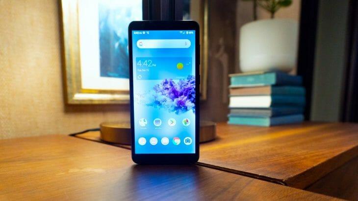 Смартфон до 7000 рублей с NFC