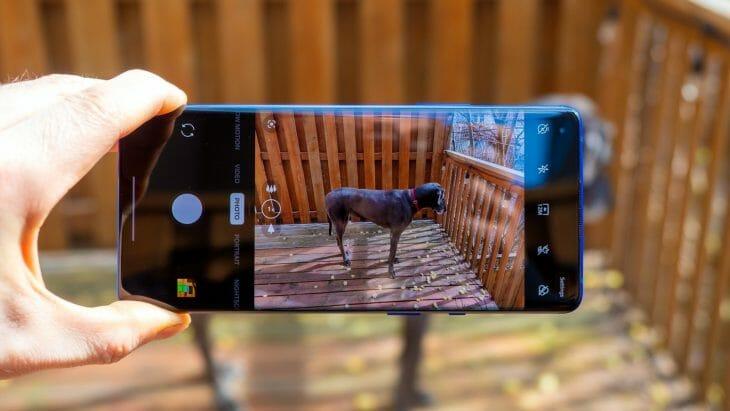 Съемка на телефон с оптической стабилизацией