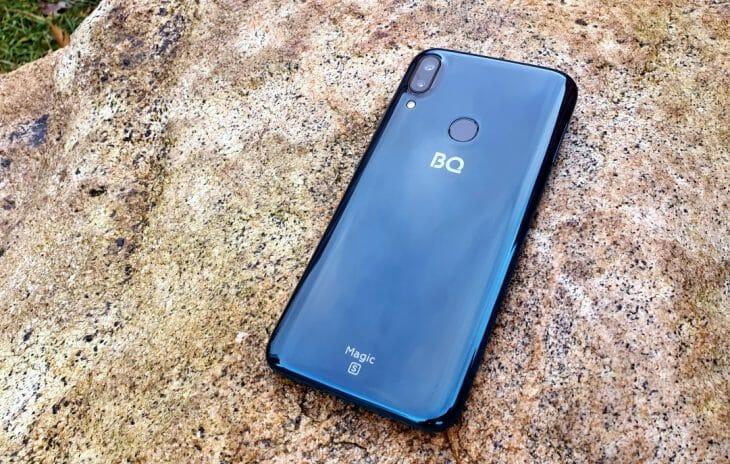 Телефон BQ с 64 Гб памяти