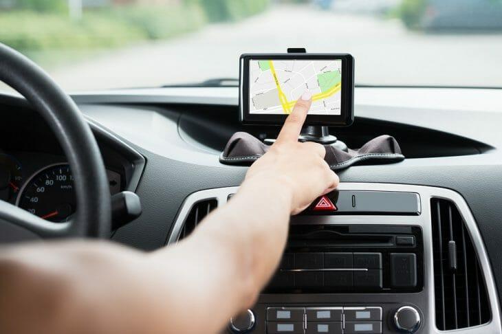 Использование навигатора в такси