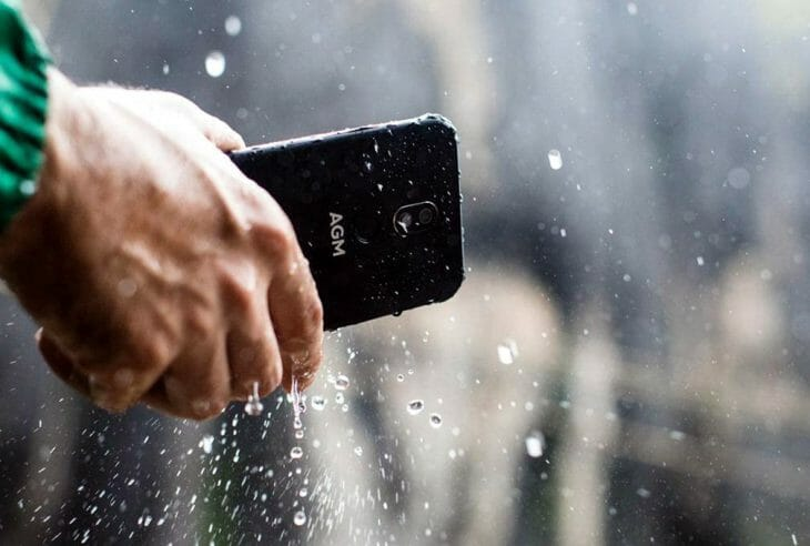 Водонепроницаемый смартфон до 40000 рублей