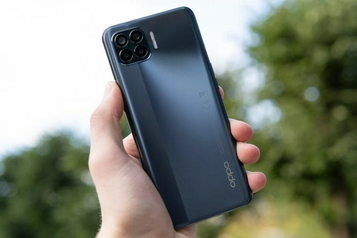 Задняя сторона смартфона с хорошей камерой