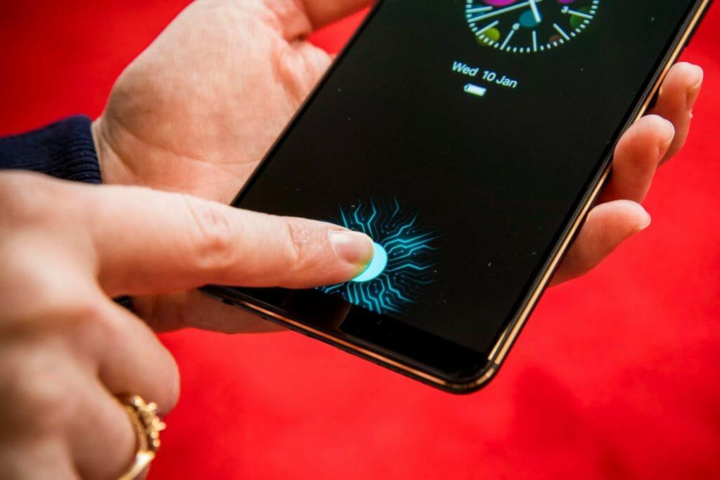 Биометрия по отпечатку пальца