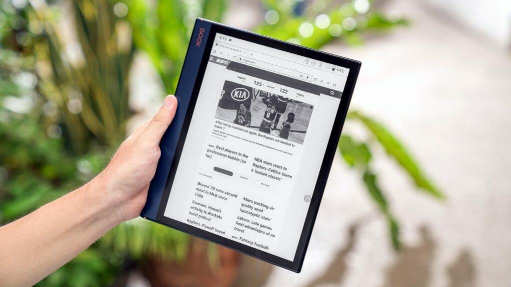 Электронная книга с большим экраном