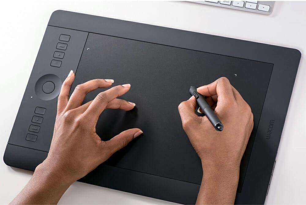 Графический планшет для рисования с опцией Multitouch