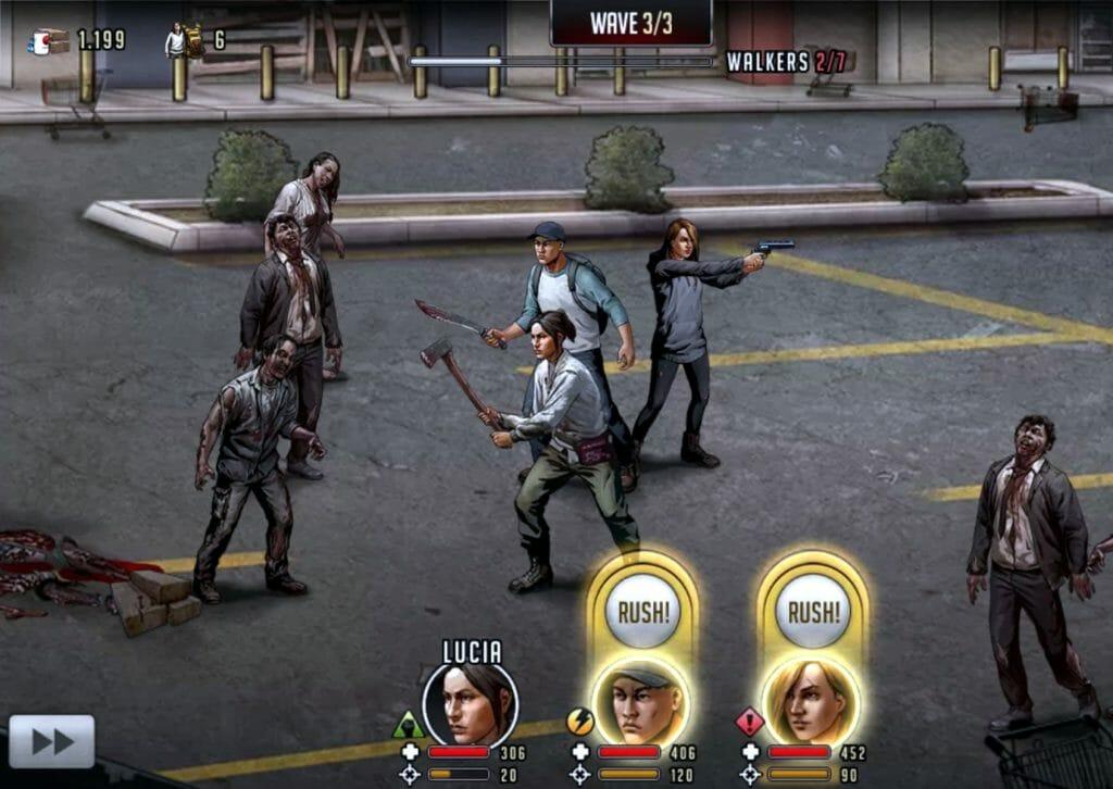 Игра The Walking Dead: Road to Survival