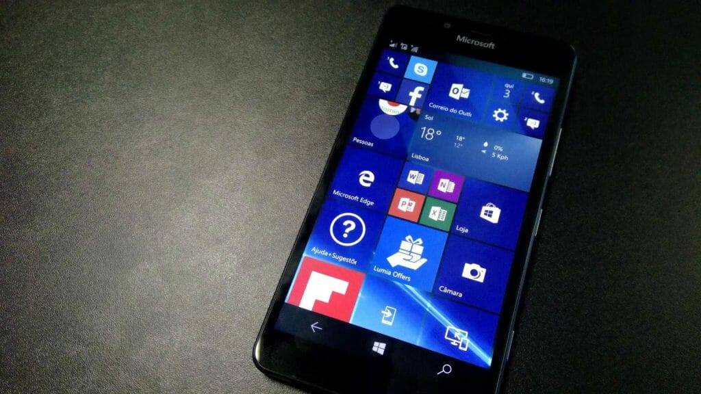 Плитка ОС Windows для мобильных