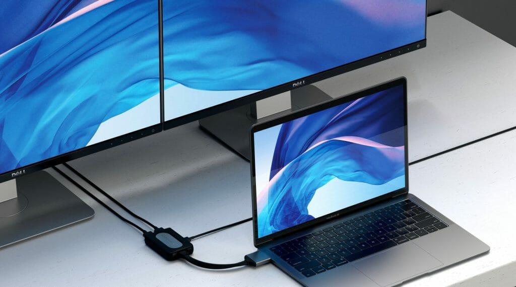 Подключение ноутбука к монитору при помощи HDMI